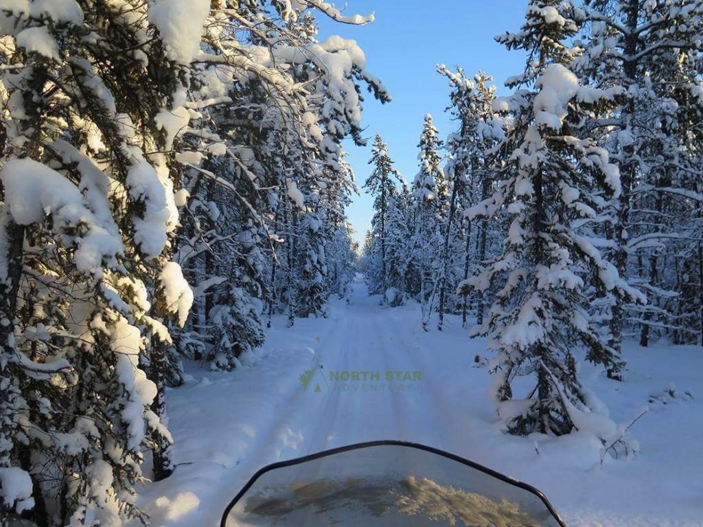 Aboriginal Snowmobile Tour