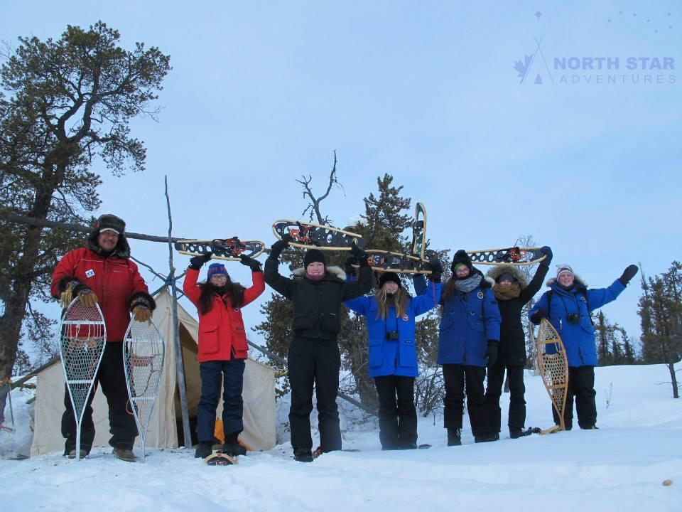 Indigenous Snowshoe Tour, North Star Adventures