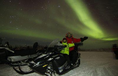 Aurora Snowmobile Tour, North Star Adventures