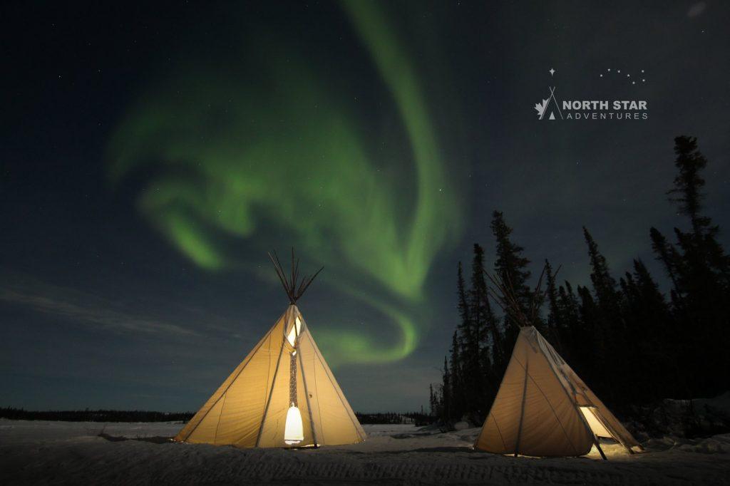 Aurora Teepee Tour, North Star Adventures