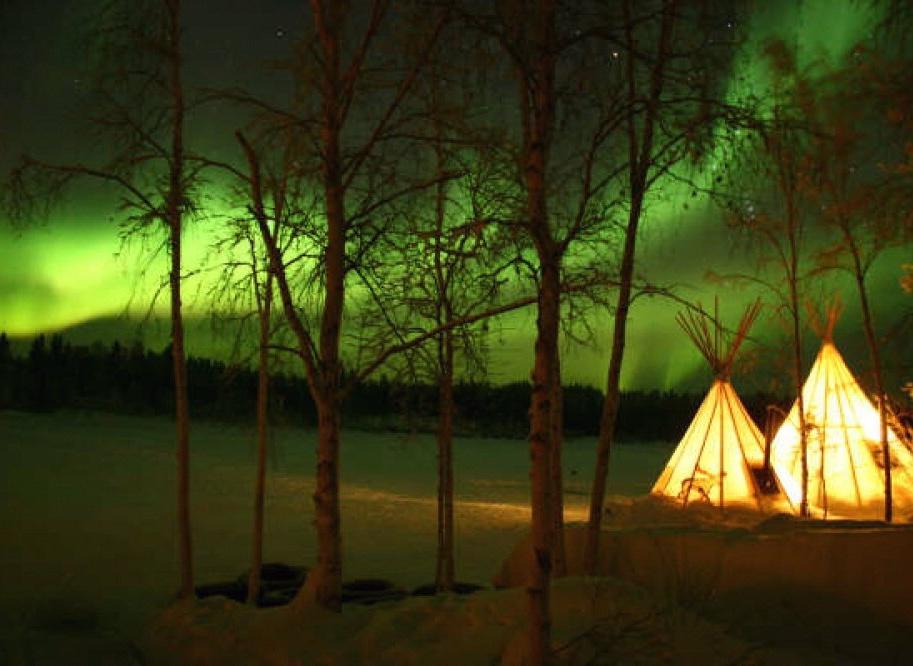 North Star Aurora Tipi Camp