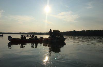 Dehcho canoe tour, north star adventures