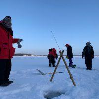 ice fishing, north star adventures