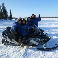 snowmobile wilderness tour, North Star Adventures