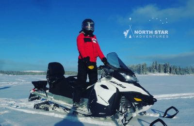 snowmobile tour, snowmobile wilderness tour, north star adventures