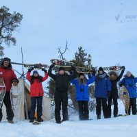 Indigenous Snowshoe Tour, North Star Adventures