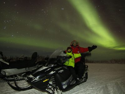 Aurora Snowmobile Tour, North Star Adventures