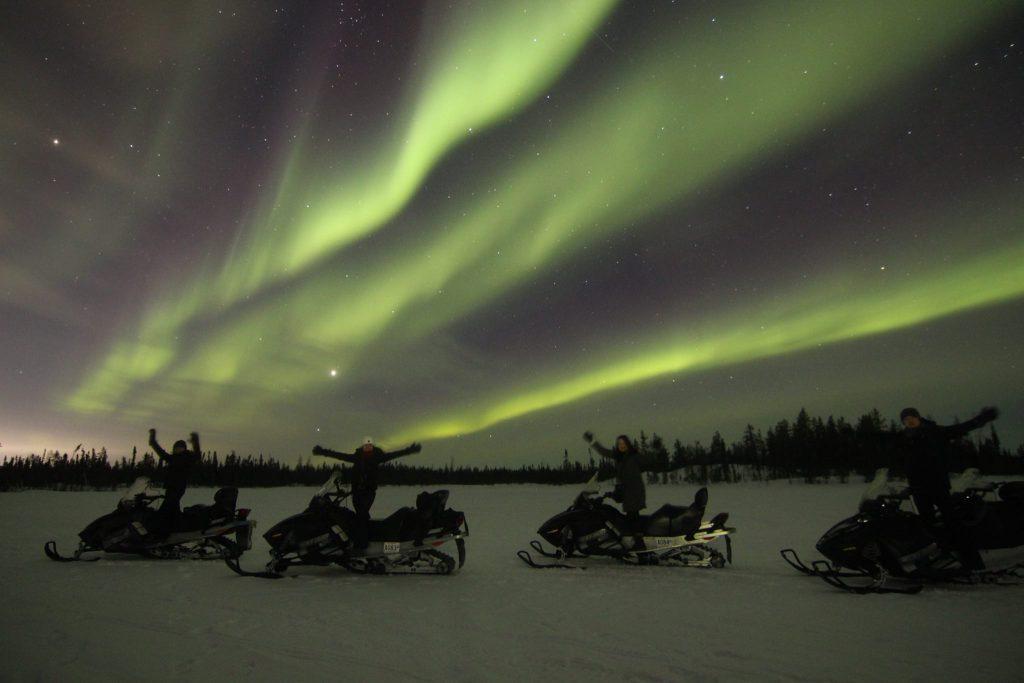 Aurora Snowmobile Tour