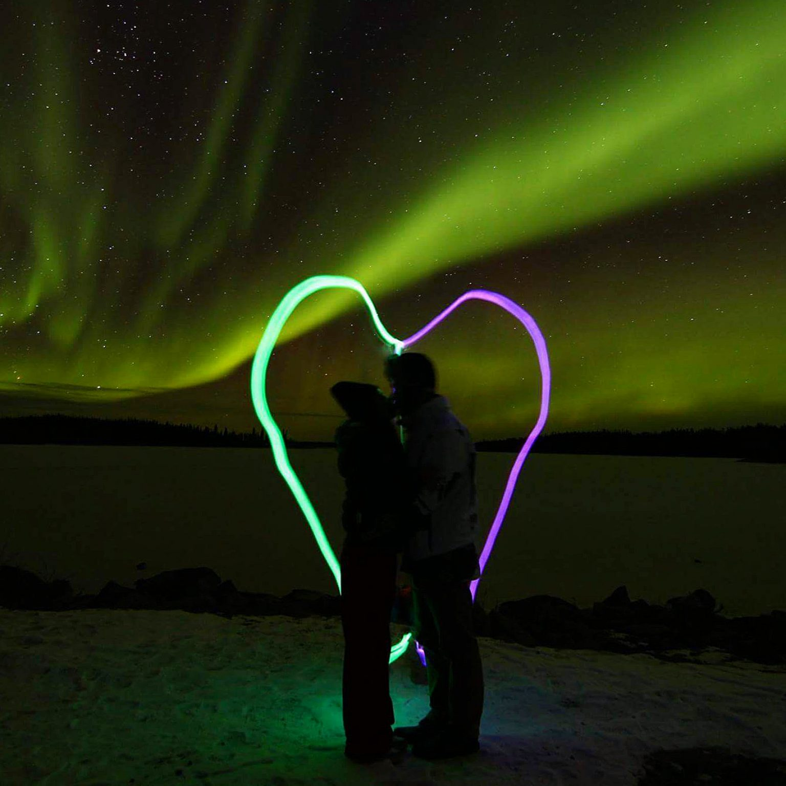 aurora romance, aurora tours, north star adventures