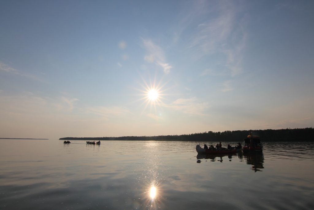 Mackenzie River, canoe tours, north star adventures