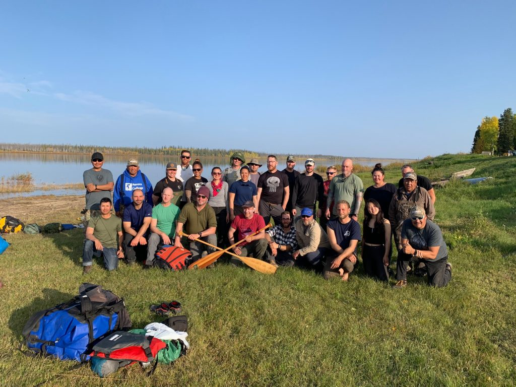 mackenzie river canoe trip, mackenzie river, north star adventures