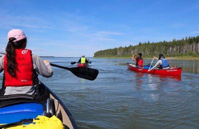 mackenzie river canoe trip, mackenzie river, north star adventures