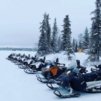 snowmobile tour, north star adventures