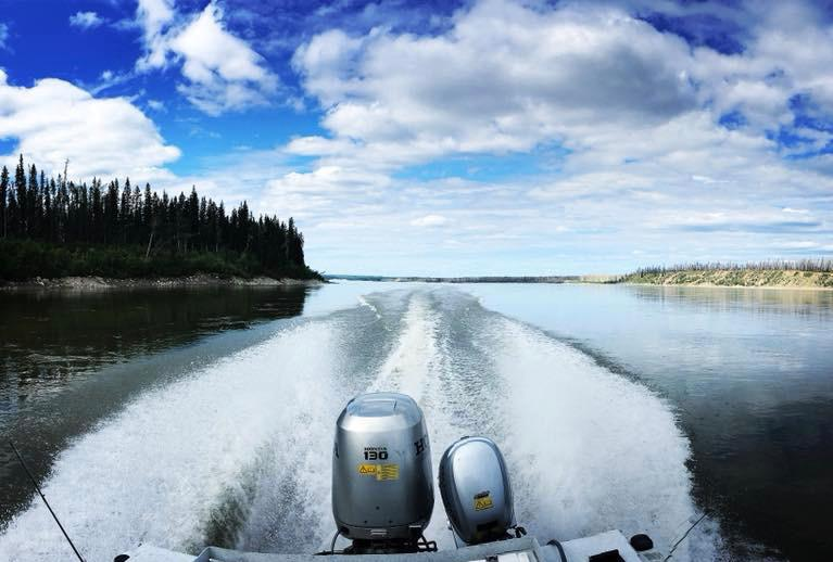 Mackenzie River boat tour