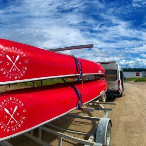 Mackenzie River canoe tours, genuine indigenous culture