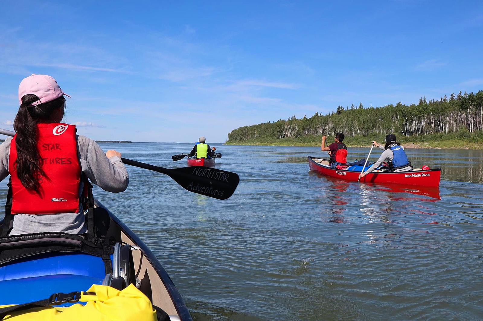 mackenzie river canoe tours, genuine indigenous culture
