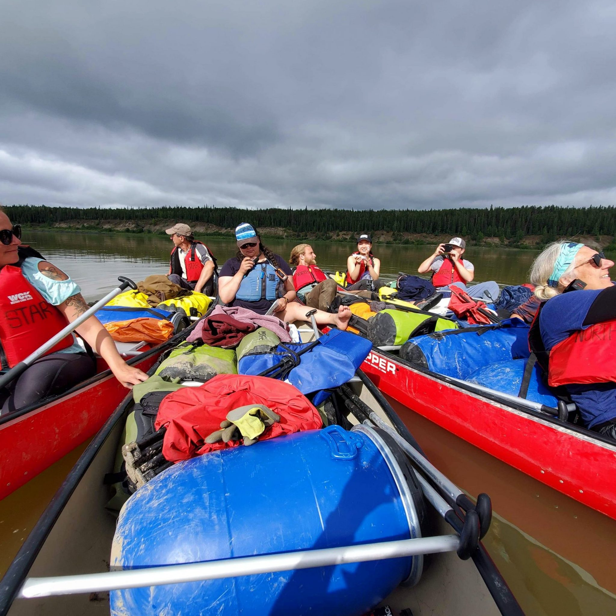 mackenzie river, canoe trips, north star adventures