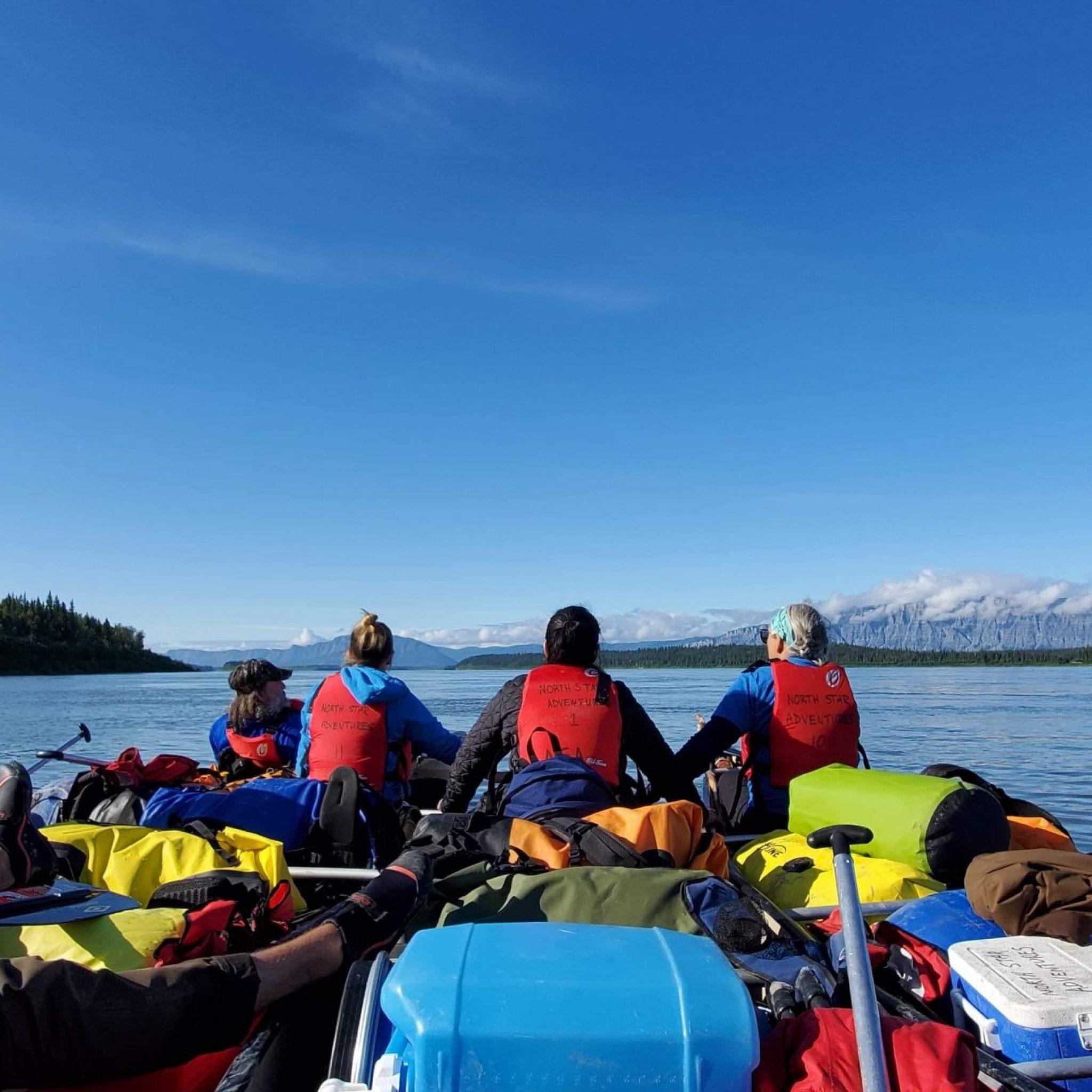 Mackenzie River canoe tours, indigenous culture
